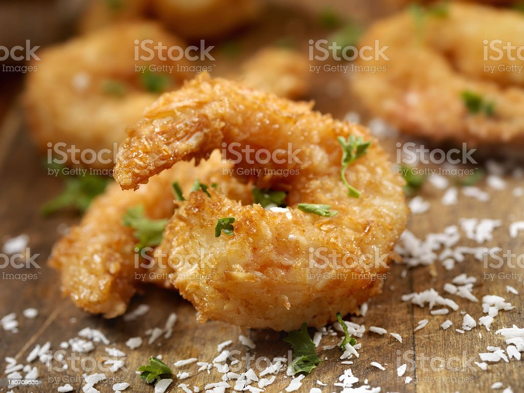 Coconut Shrimp royalty-free stock photo