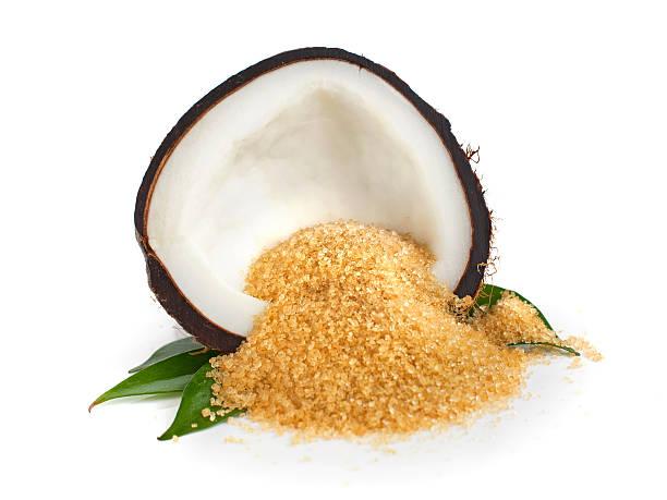 Coconut  sugar stock photo