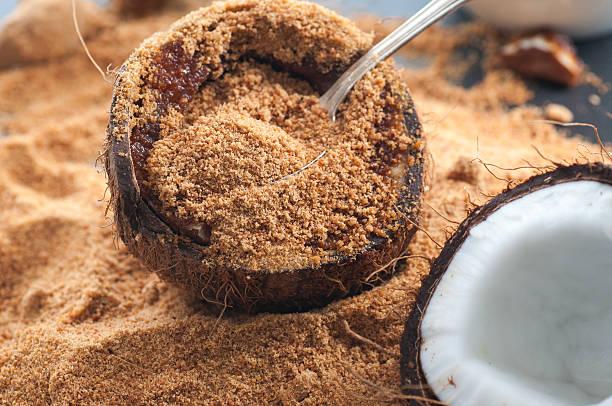 Coconut Sugar bildbanksfoto