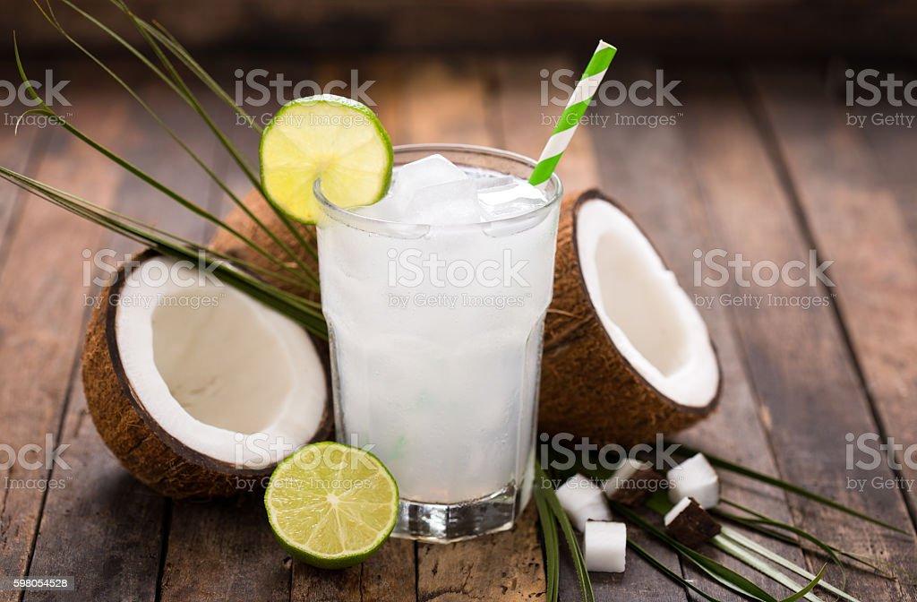 Água de coco - foto de acervo