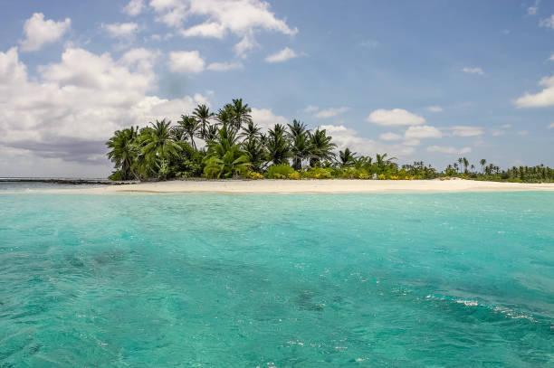 Cocos Island Keeling Islands Australia Islet Beach stock photo