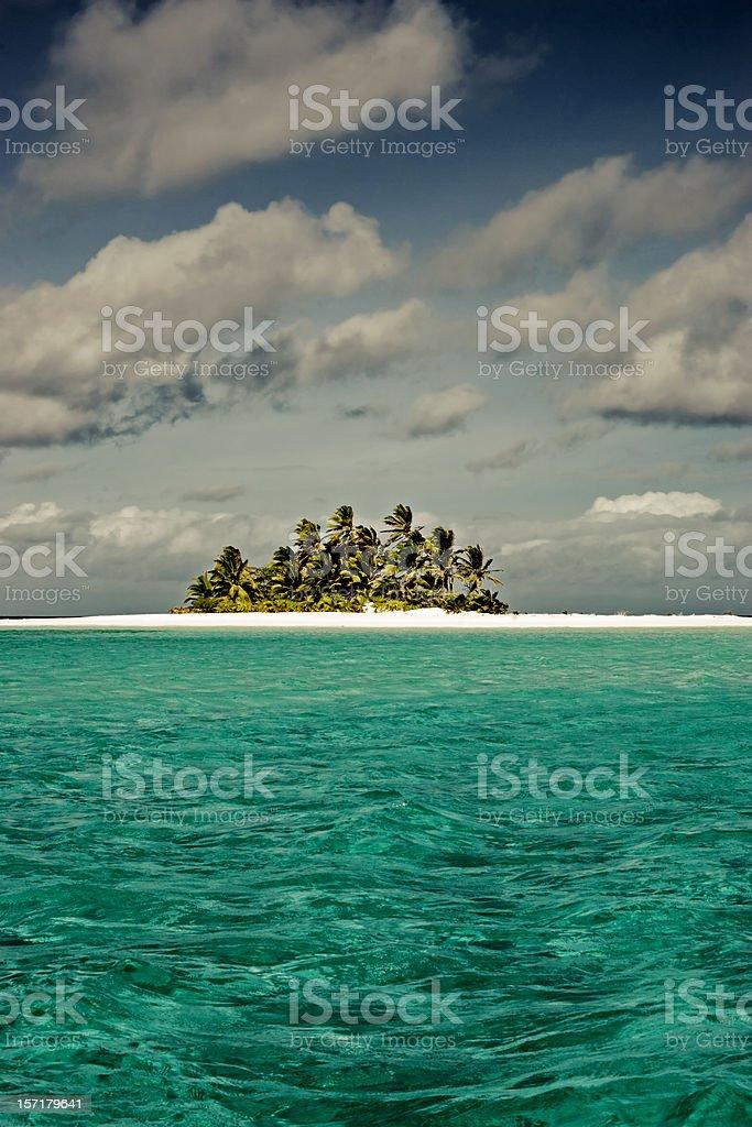 Cocos Islands Indian Ocean royalty-free stock photo