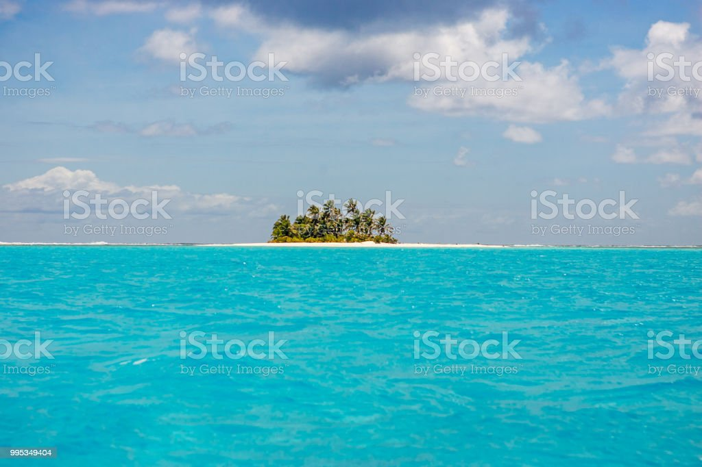 Cocos Keeling Islands Australia Remote Islet royalty-free stock photo