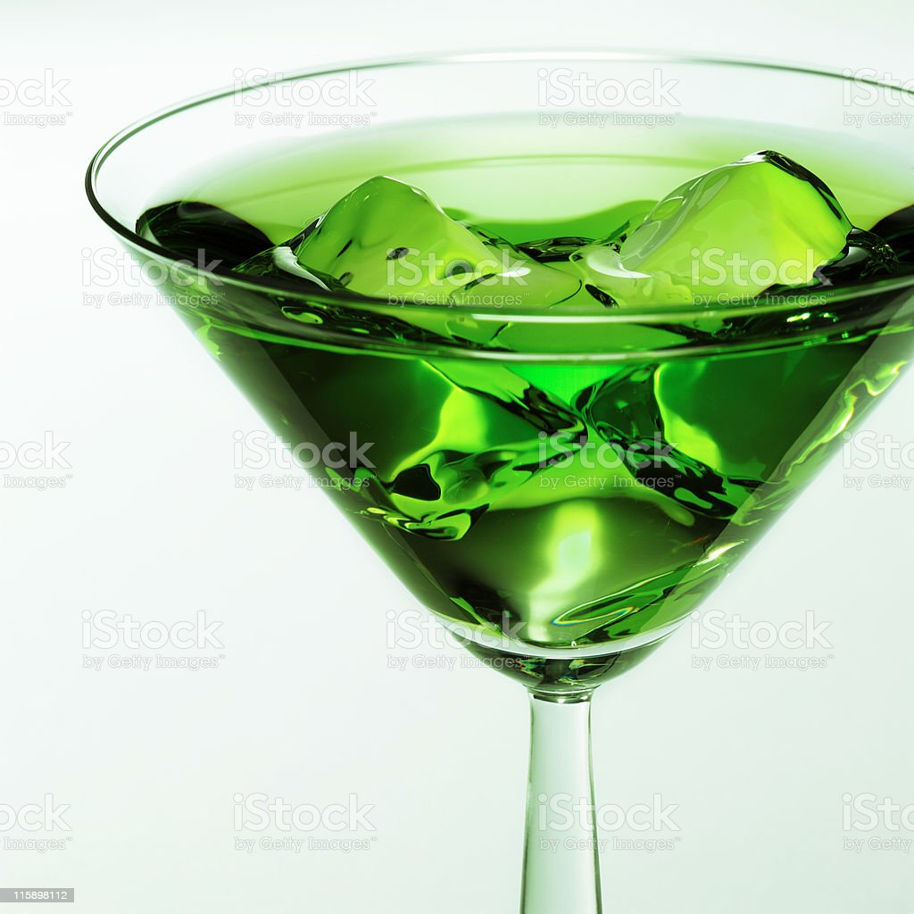 Coctail glass royalty-free stock photo