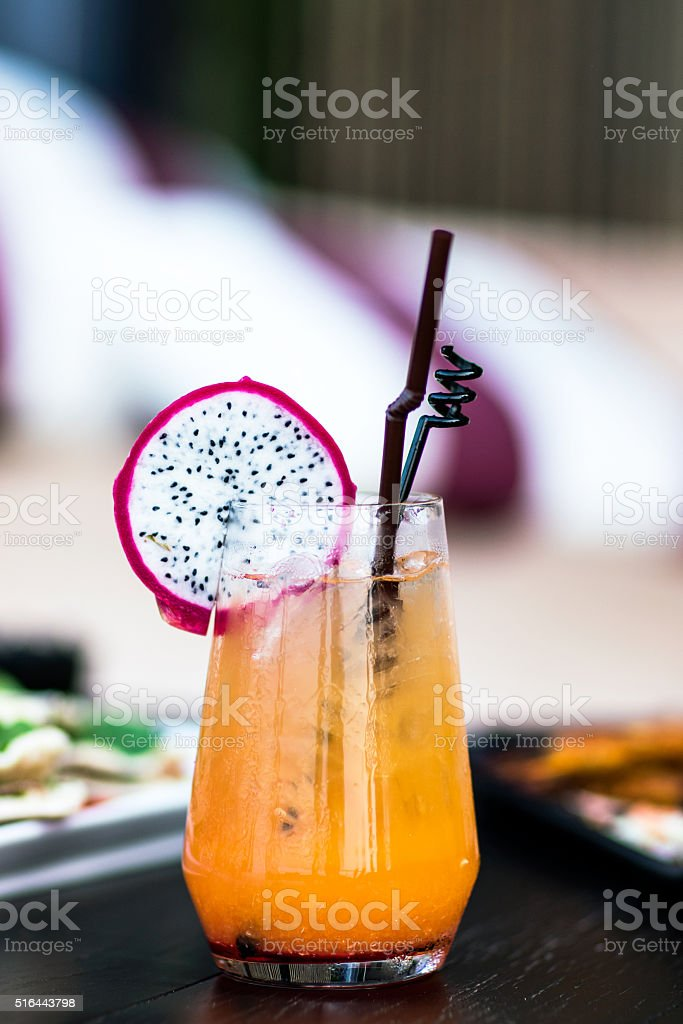 Coctail in lounge bar​​​ foto