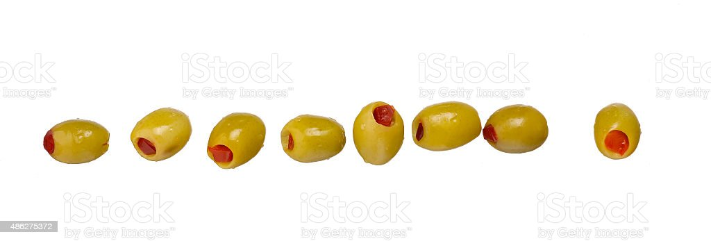 Coctail Olive stock photo