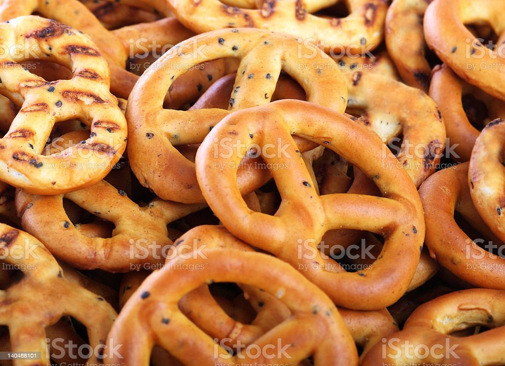 coctail pretzels close-up royalty-free stock photo