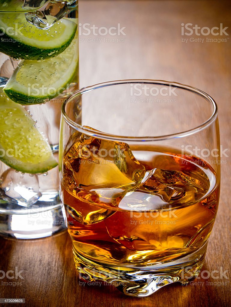 Coctails royalty-free stock photo