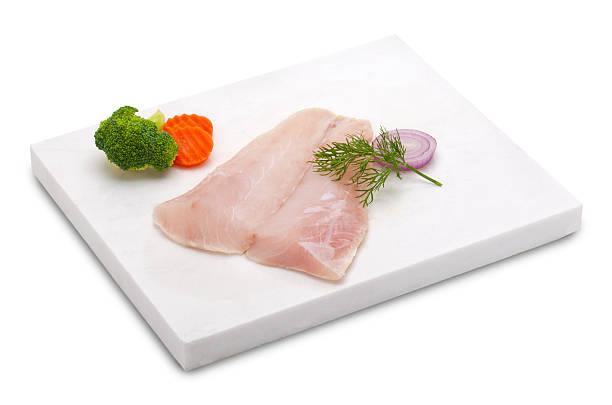 cod fish fillet stock photo