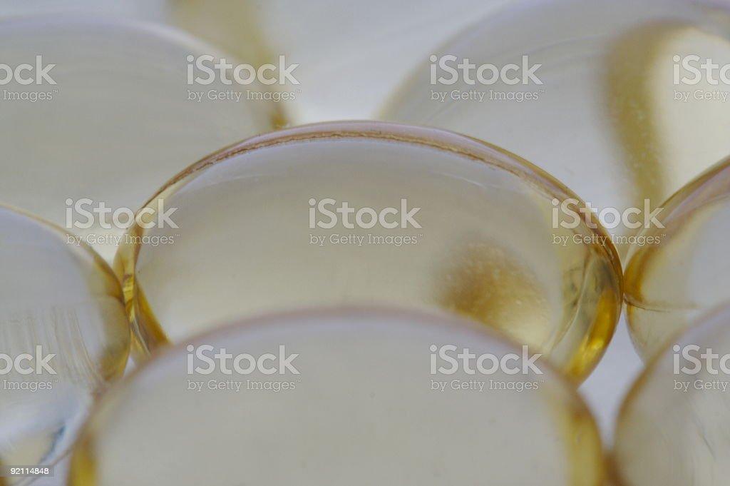 Cod Liver Oil stock photo