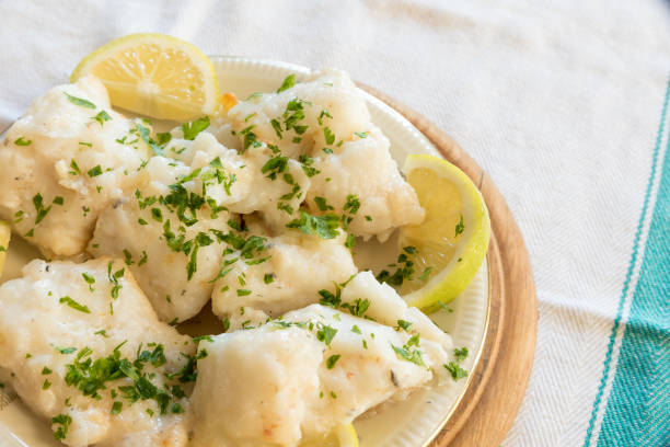 Cod with olive oil and parsley – zdjęcie