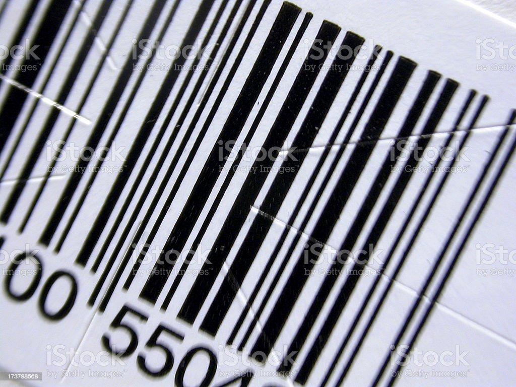 Code Behind Bars royalty-free stock photo