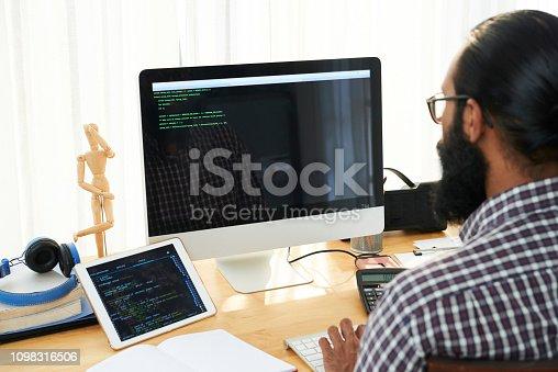 1098316816 istock photo Code making 1098316506