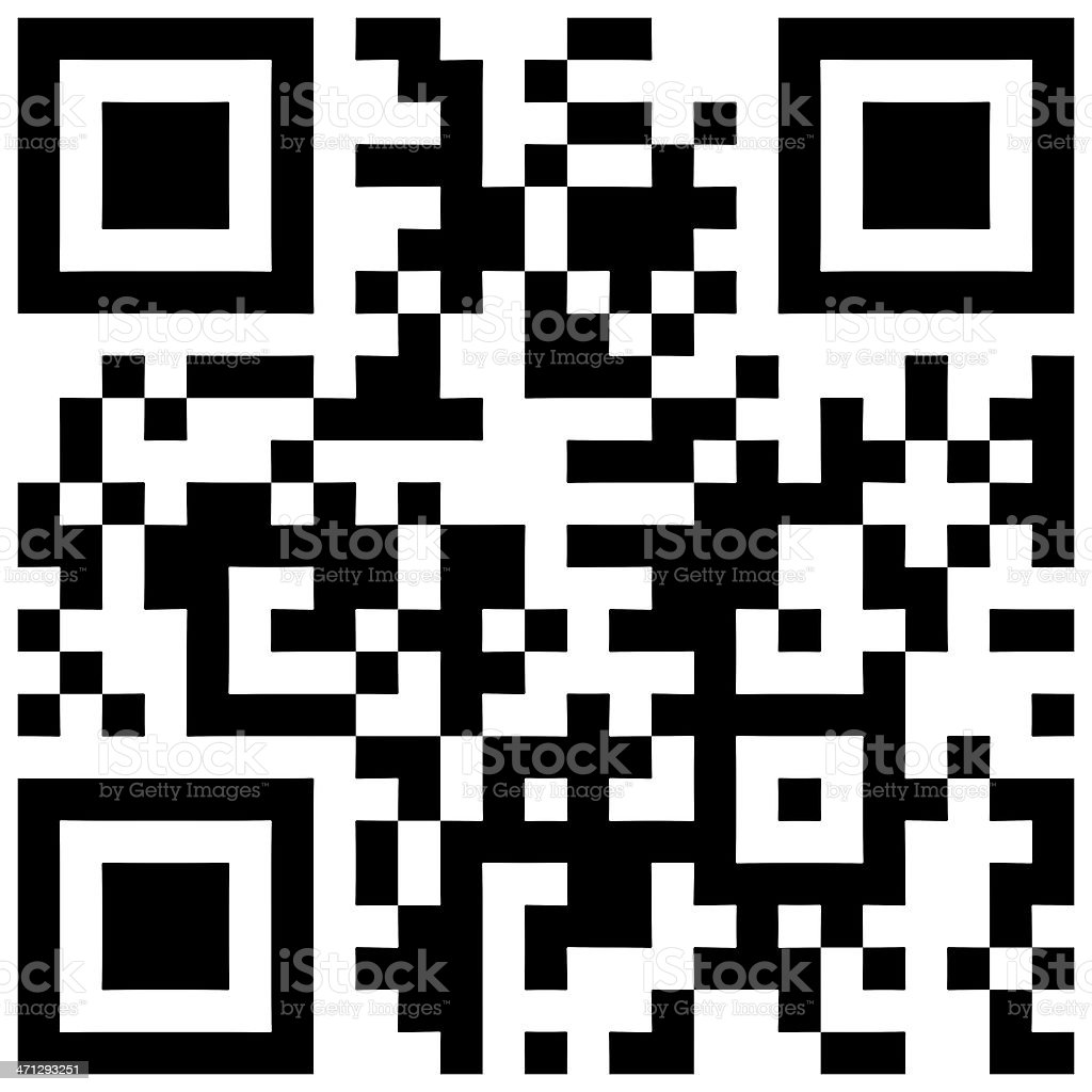 QR Code royalty-free stock photo