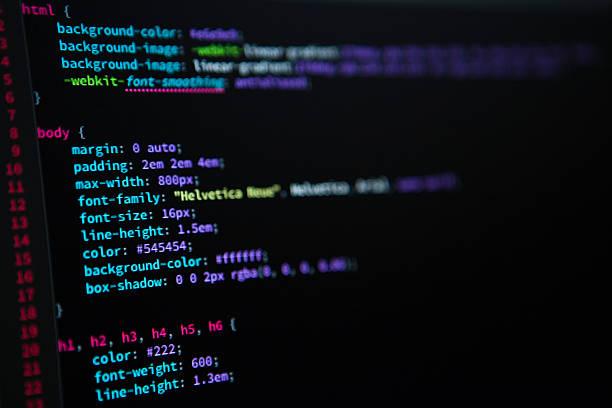 css code - html stock-fotos und bilder