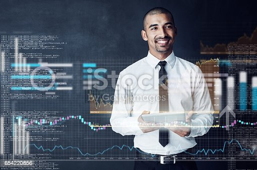 istock Code your own successful future 654220856