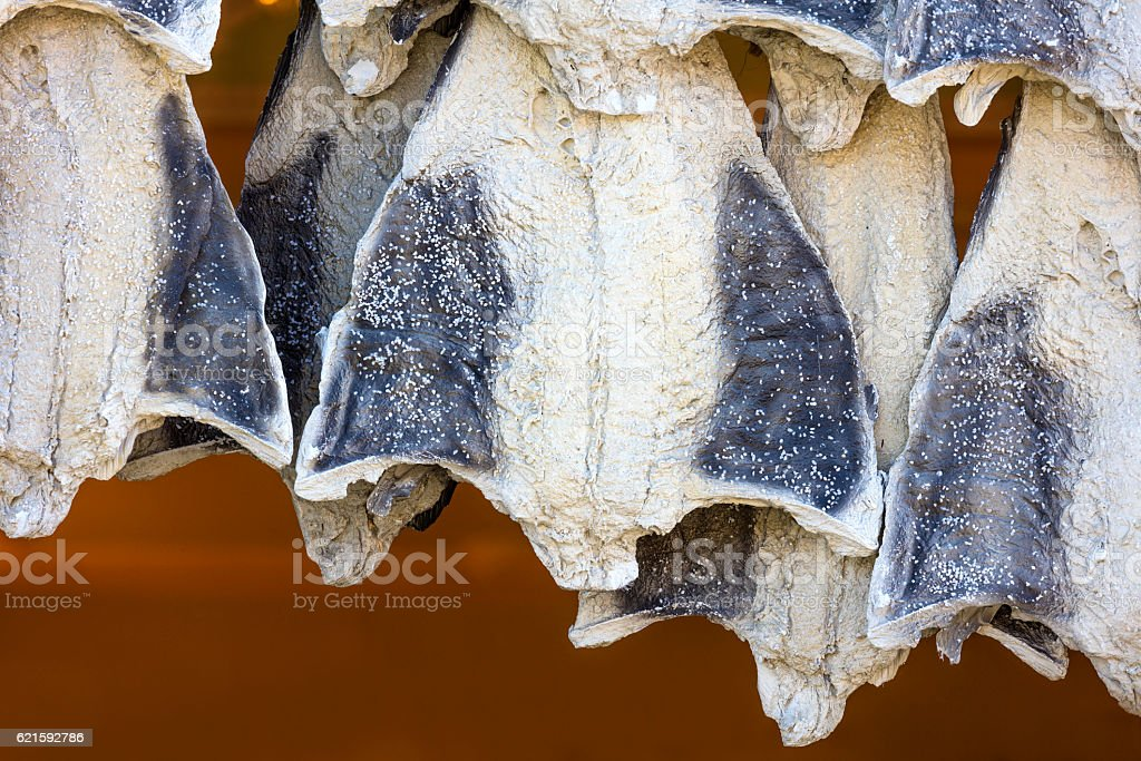 Codfish - bacalhau stock photo