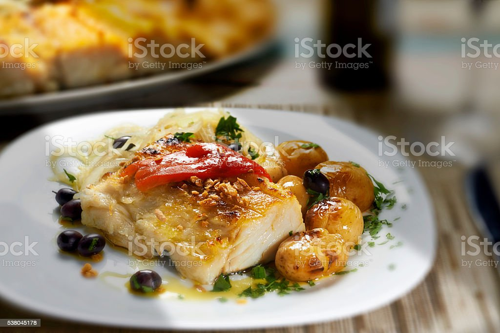codfish - foto de stock