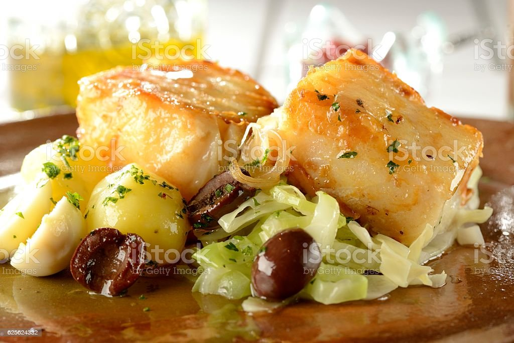 Codfish stock photo