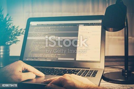 istock coding code program compute coder develop developer development 626679478