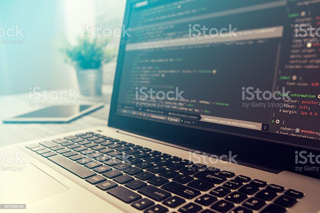 coding code program compute coder develop developer development Lizenzfreies stock-foto