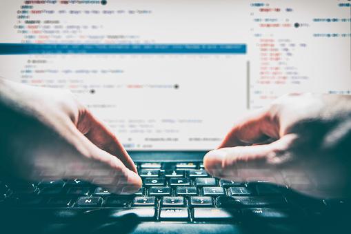 Codificación Codificador De Código Programa Cálculo Desarrollar Desarrollo Desarrollo Foto de stock y más banco de imágenes de Codificar