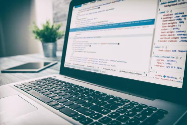 codierung code programm compute programmierer entwickeln entwickler entwicklung - html stock-fotos und bilder