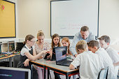 HTML Coding Lesson In School