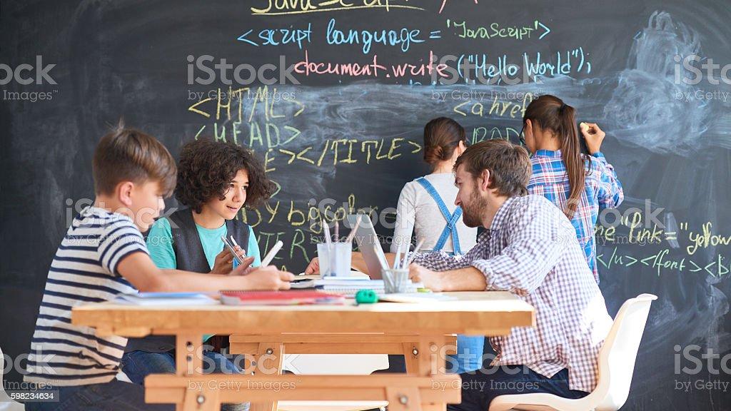 Coding school foto royalty-free