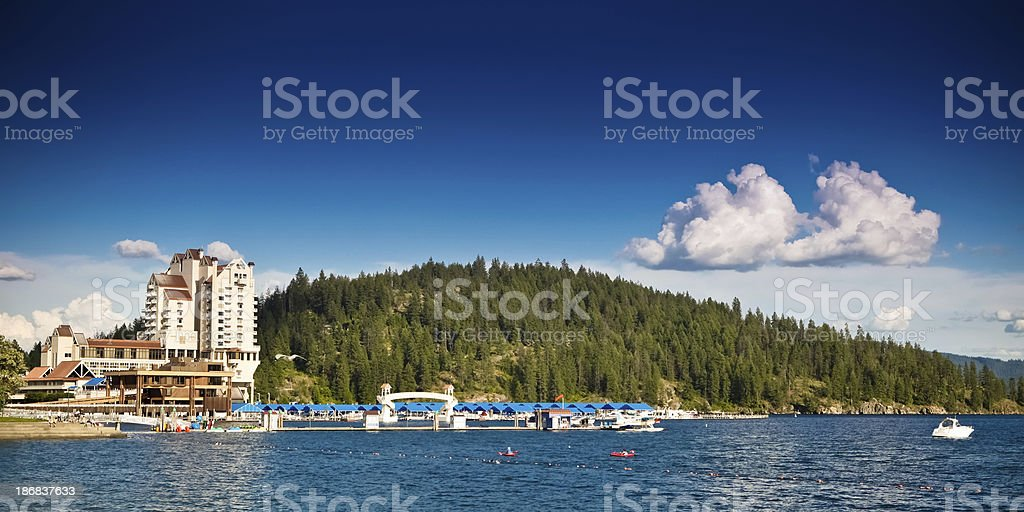 Coeur D' Alene, Idaho royalty-free stock photo