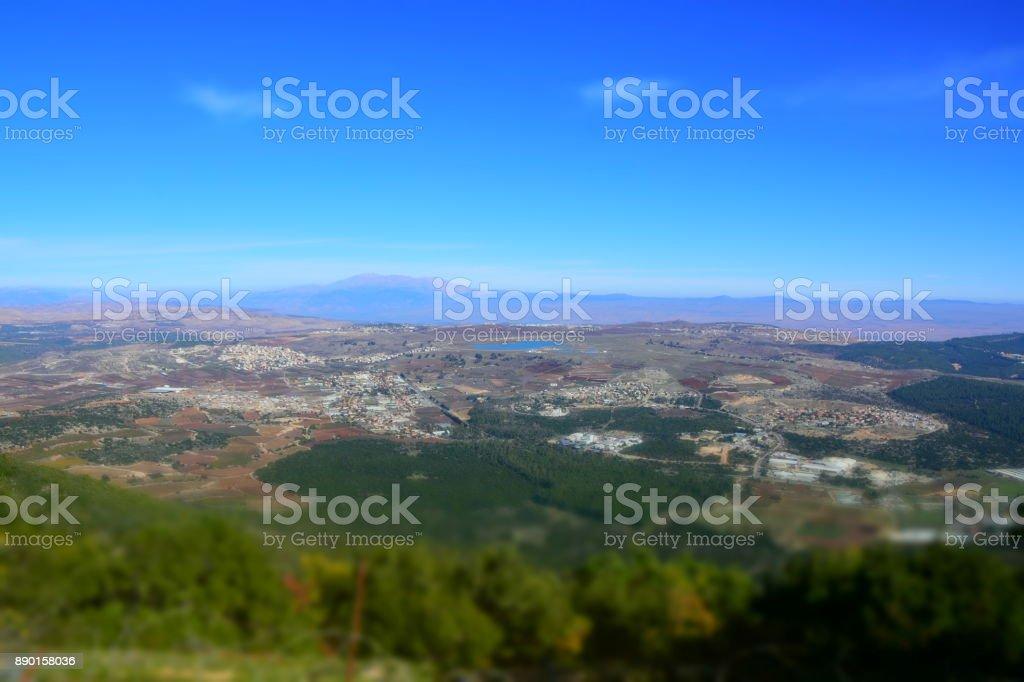 cof Mount Moriah stock photo