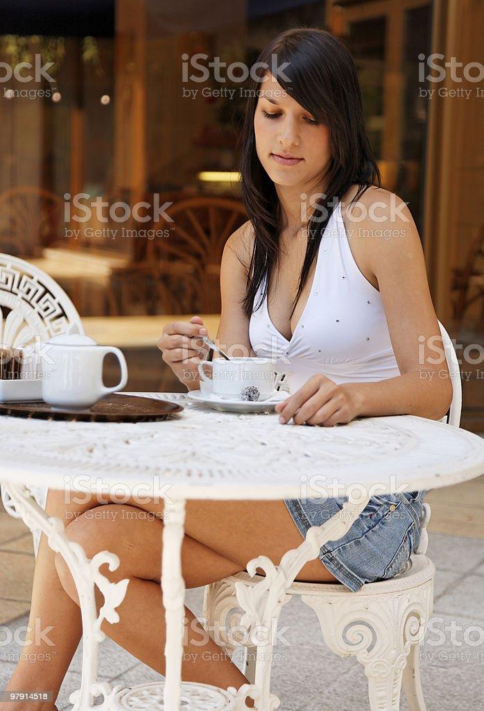 cofee break royalty-free stock photo