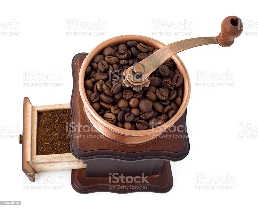 cofee mill royalty-free stock photo