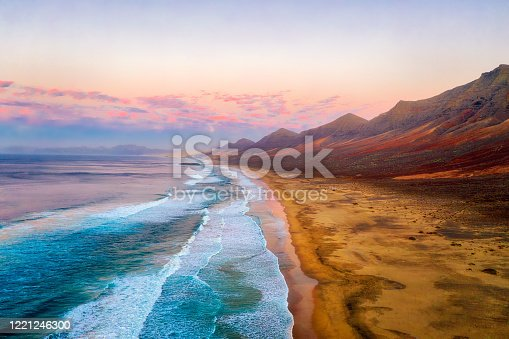 istock Cofete Beach on the Southern Tip of Fuerteventura during Sunset 1221246300