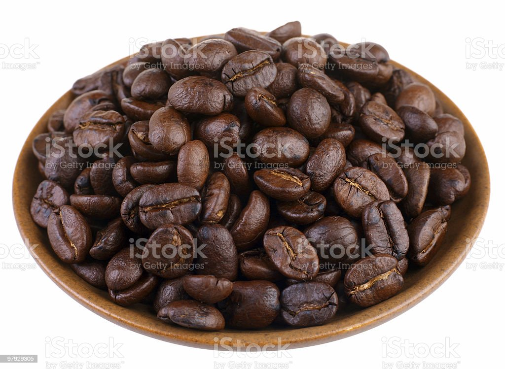 Coffe bean royalty-free stock photo