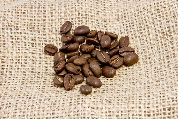 Hintergrund Kaffee Bohnen – Foto