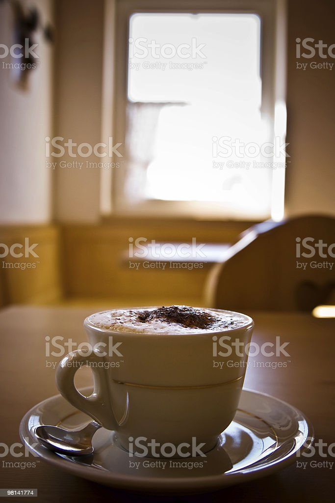 Tazza di caffè foto stock royalty-free