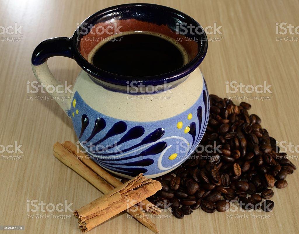 Coffe - taza de cafe stock photo