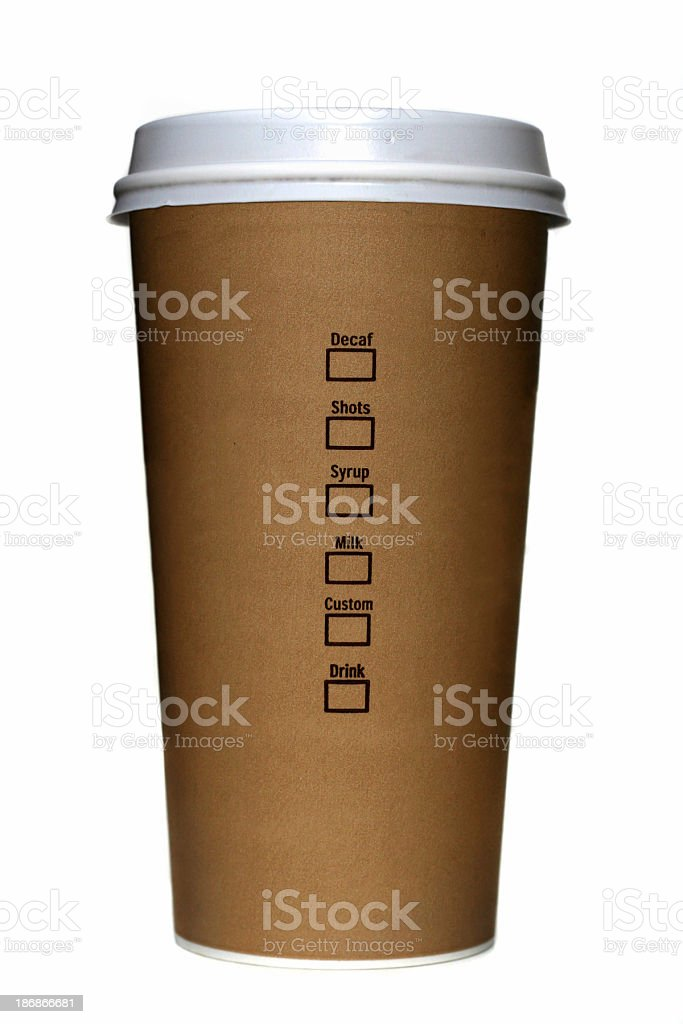 Coffe To Go royalty-free stock photo