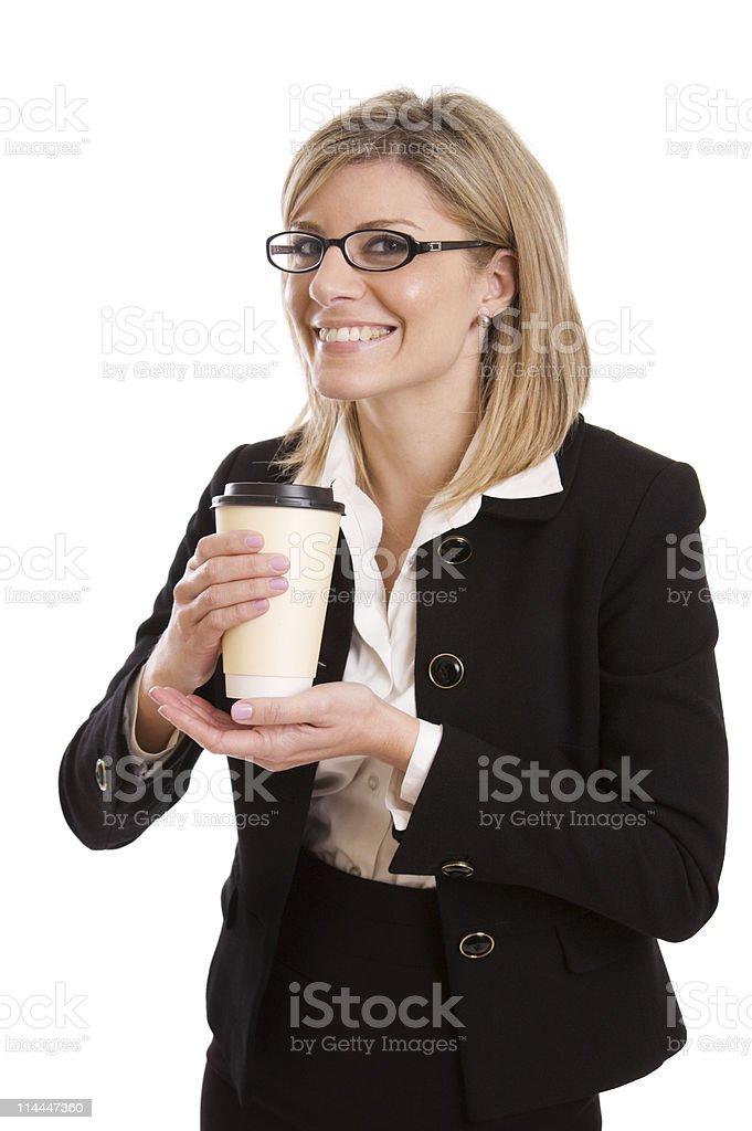 Coffee Addict royalty-free stock photo