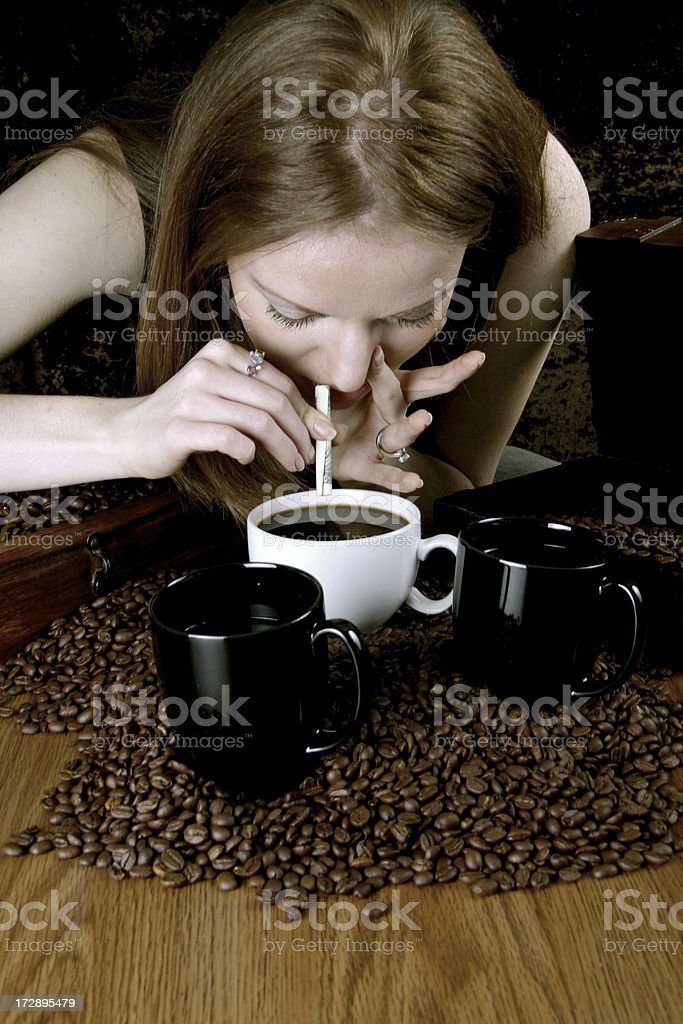Coffee Addiction royalty-free stock photo