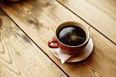 それはエスプレッソとお湯、英国から作られたコーヒー アメリカーノ