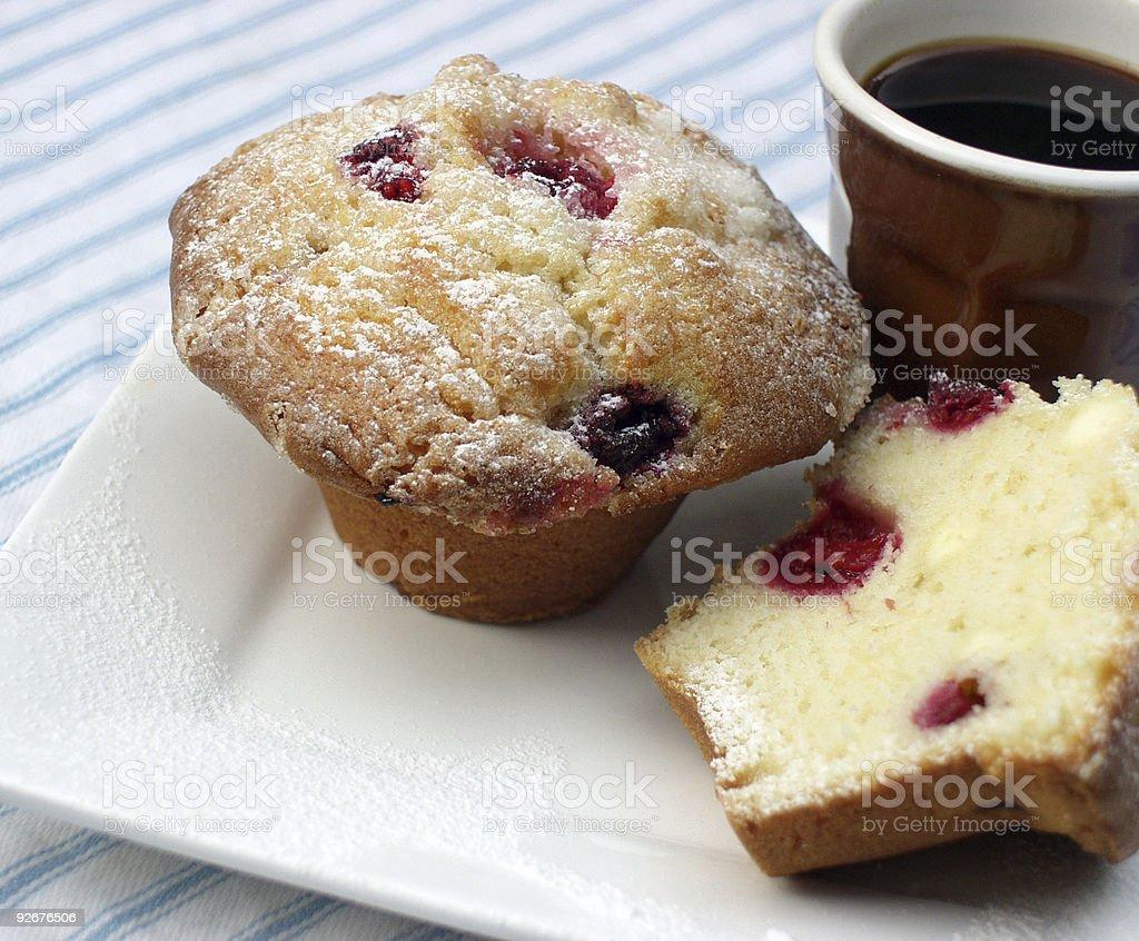 Coffee & Cake Break royalty-free stock photo