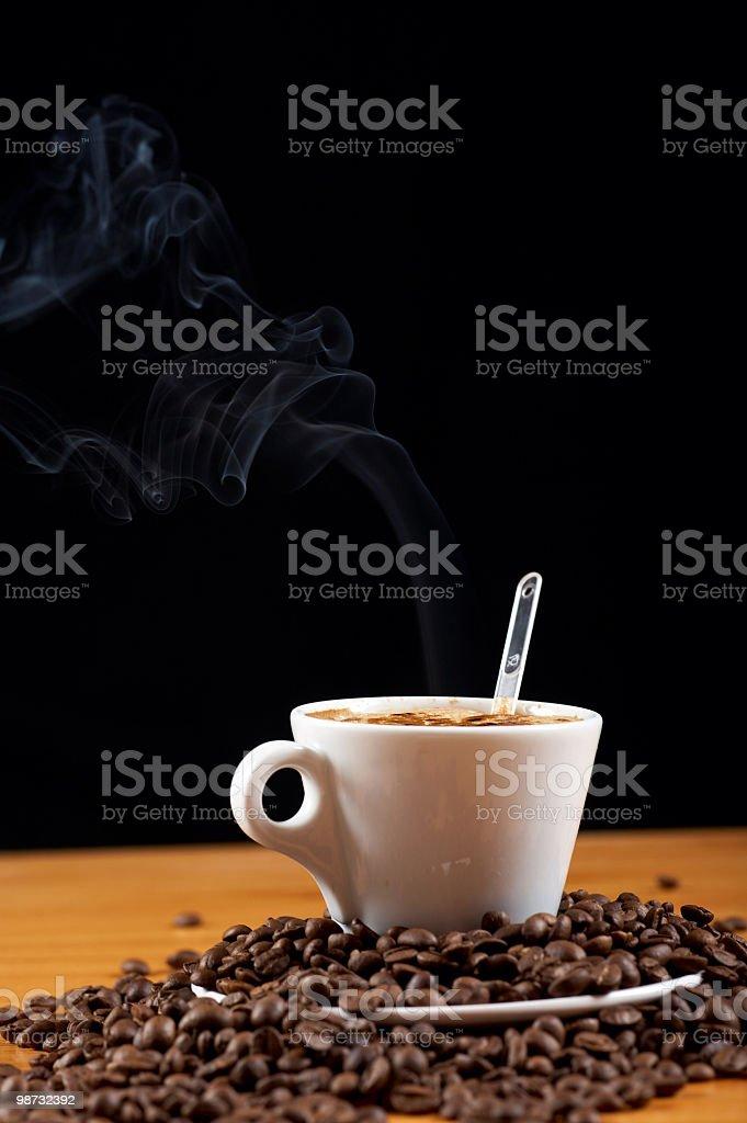 커피 및 콩 royalty-free 스톡 사진