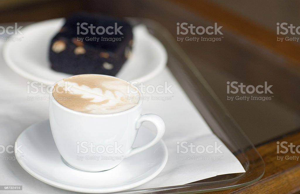 coffee and cake now please royalty-free stock photo