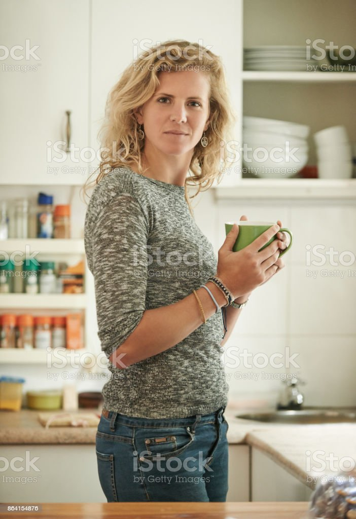 Coffee and chill royalty-free stock photo