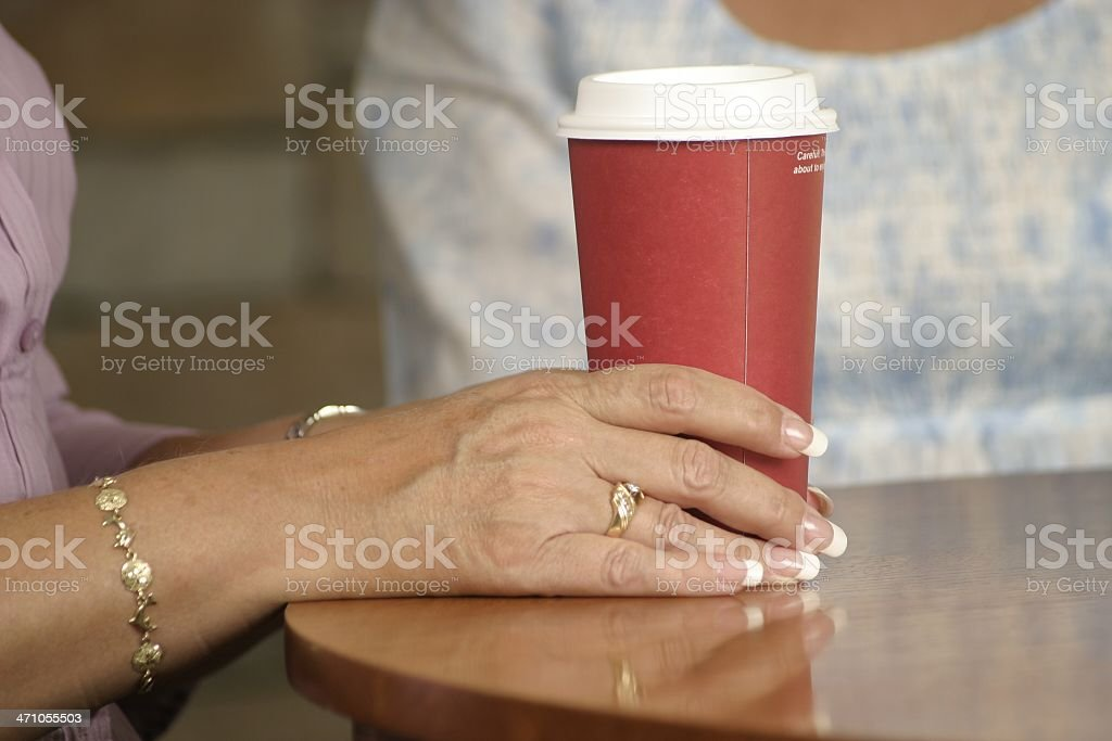 Coffee and Conversation royalty-free stock photo