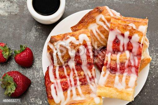 istock Coffee And Danish Pastry 465653271