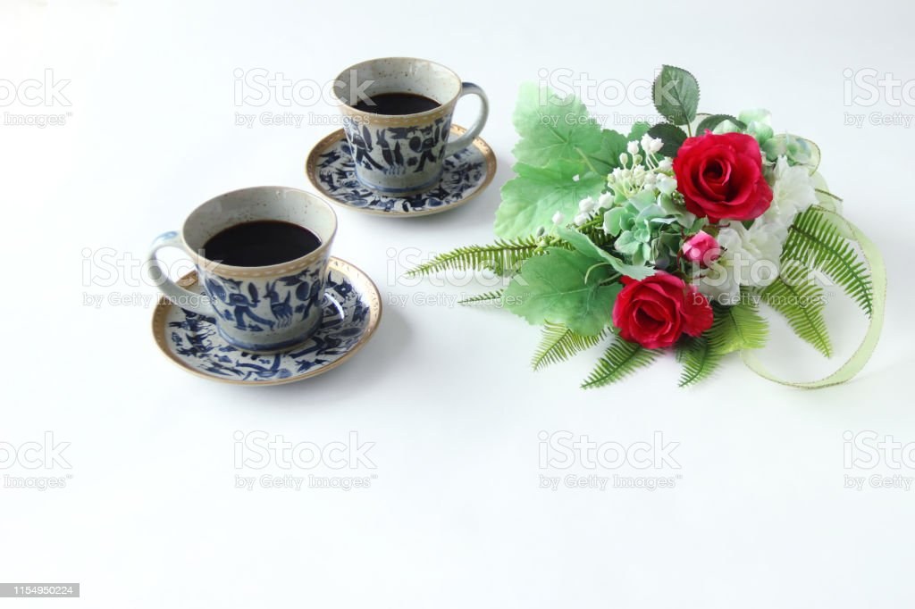 coffee and flower