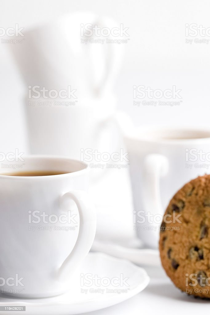 coffee and muffin royalty-free stock photo